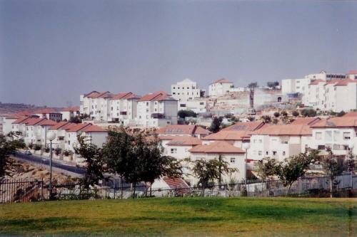 Assentamento de Beitar Illit, na província de Belém, considerado município por Israel [Wikipedia]