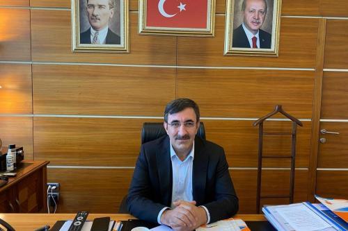 Ex-premiê adjunto da Turquia Cevdet Yilmaz, 9 de julho de 2020