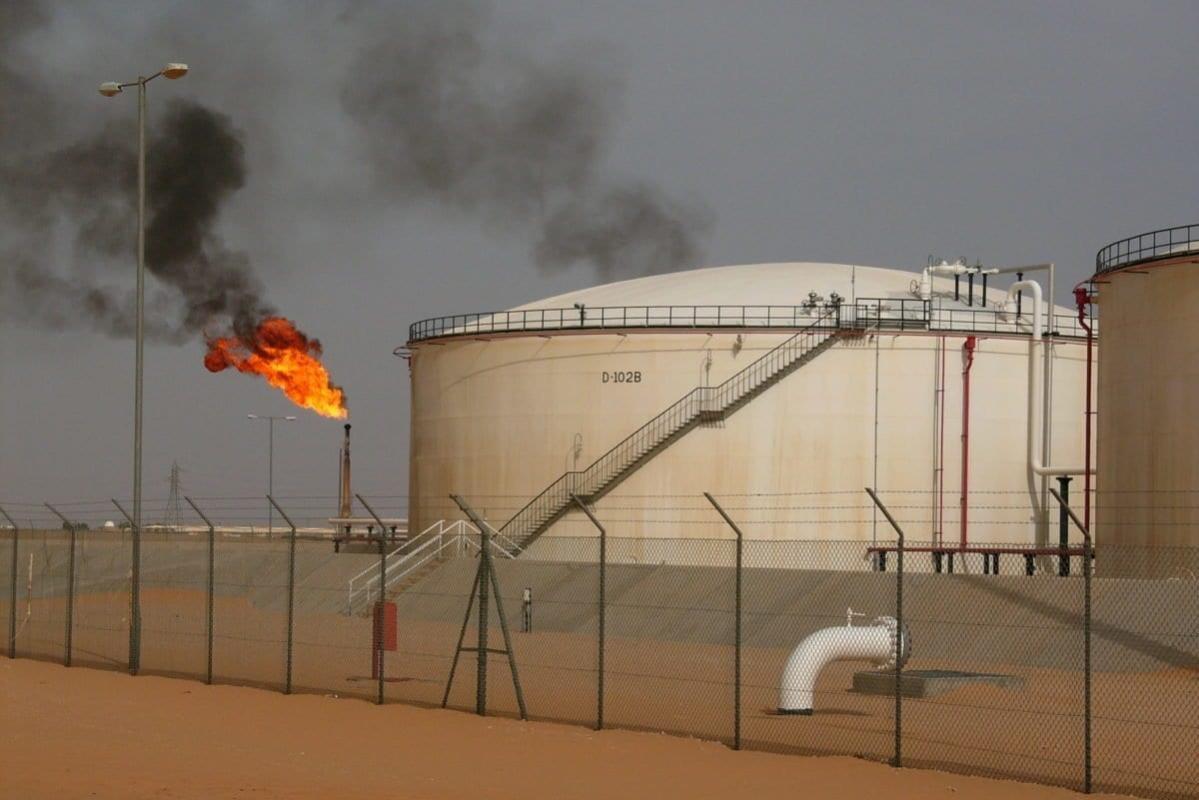 Campo de petróleo de Sharara, na Líbia [Wikipedia]
