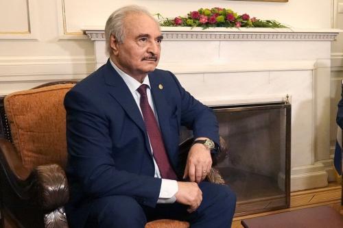 General rebelde líbio, Khalifa Haftar, 17 de janeiro de 2020 [Ministério das Relações Exteriores / Flickr]