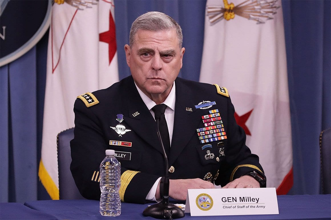 Mark Milley, general de mais alto posto dos Estados Unidos [Wikipedia]