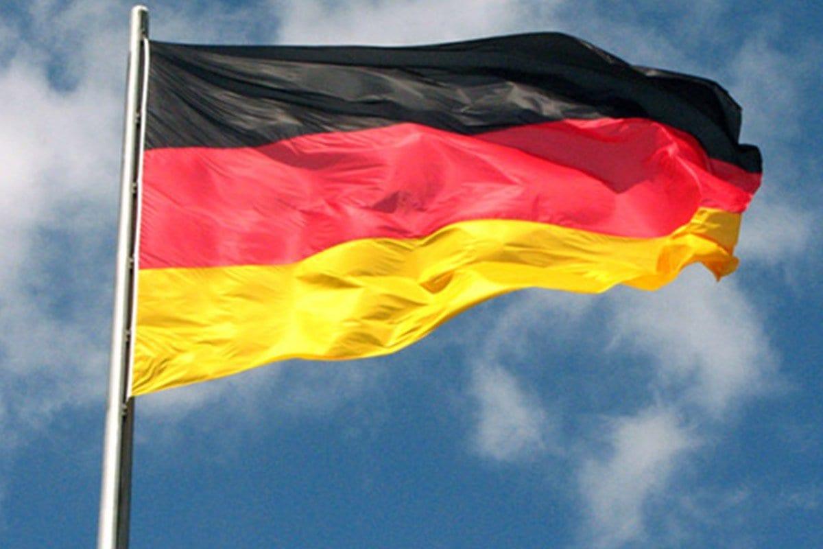 Bandeira da Alemanha [foto de arquivo]