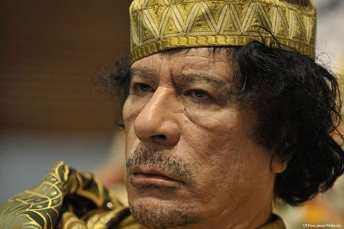 Ex-líder líbio Muammar Gaddafi [US Navy photo / Wikipedia]