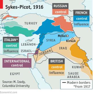 Acordo Sykes-Picot [Wikipedia]