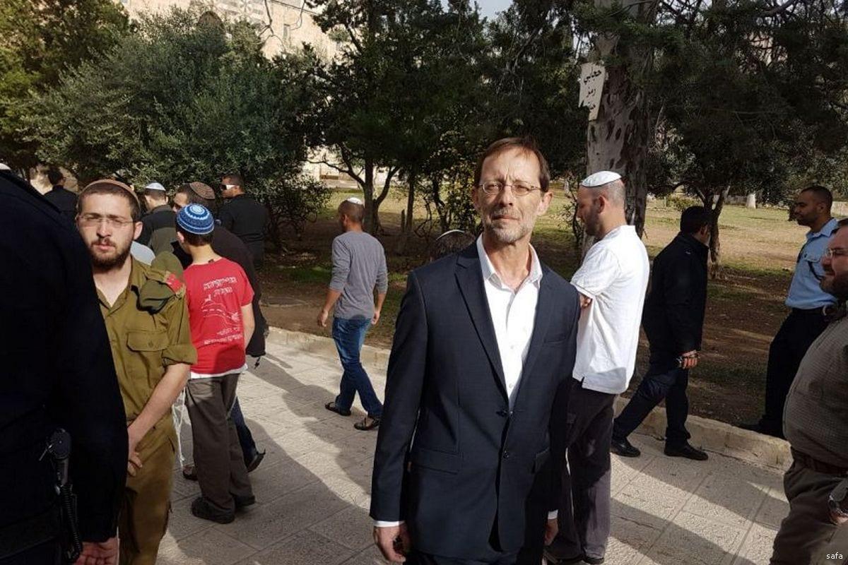 Ex-vice-presidente do Knesset Moshe Feiglin [safa]