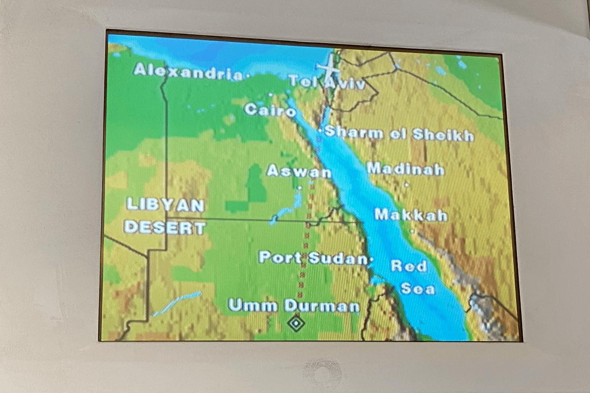 Primeiro vôo oficial direto de Israel para o Sudão [Mike Pompeo/ Twitter]
