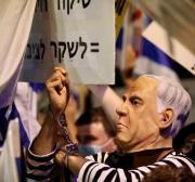 Premiê de Israel Benjamin Netanyahu condena protestos contra si próprio