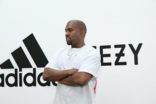 Kanye West no Milk Studios em 28 de junho de 2016 em Hollywood, Califórnia. [Jonathan Leibson / Getty Images para Adidas]