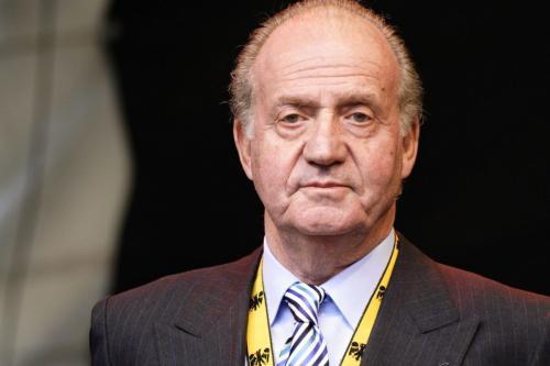 Juan Carlos I, então rei da Espanha, no Prêmio Internacional Carlos Magno da cidade de Aachen , em 2007 [Aleph / Wikimedia]