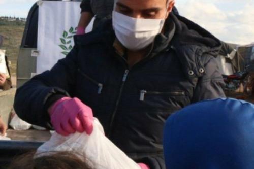 Ahmad Al-Qaddour, diretor da organização de caridade Jamiatul-Mizaan.