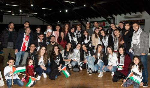 Encontro da juventude árabe palestino-brasileira Sanaúd, em Foz do Iguaçu em junho de 2019 [ Foto arquivo pessoal]