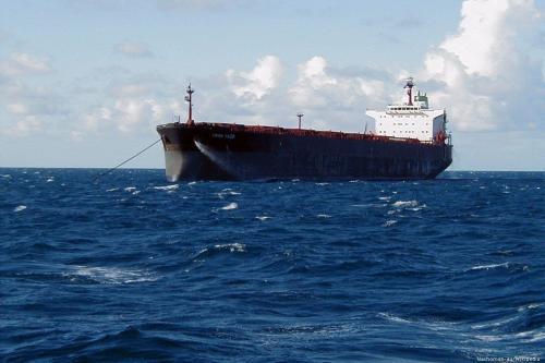 Um petroleiro iraniano, 17 de julho de 2019 [Nachoman-au / Wikipedia]
