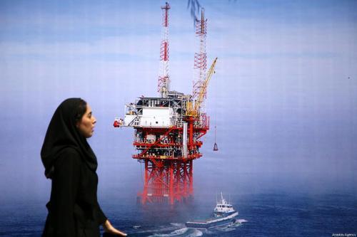 23ª Exibição Internacional de Petróleo, Gás Natural, Refinaria e Petroquímica, organizada pelo Ministério do Petróleo do Irã, na capital Teerã, 6 de maio de 2018 [Fatemeh Bahrami/Agência Anadolu]