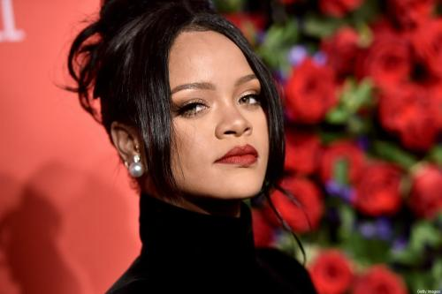 Estrela de renome mundial Rihanna em Nova York, EUA em 12 de setembro de 2019 [Steven Ferdman / Getty Images]