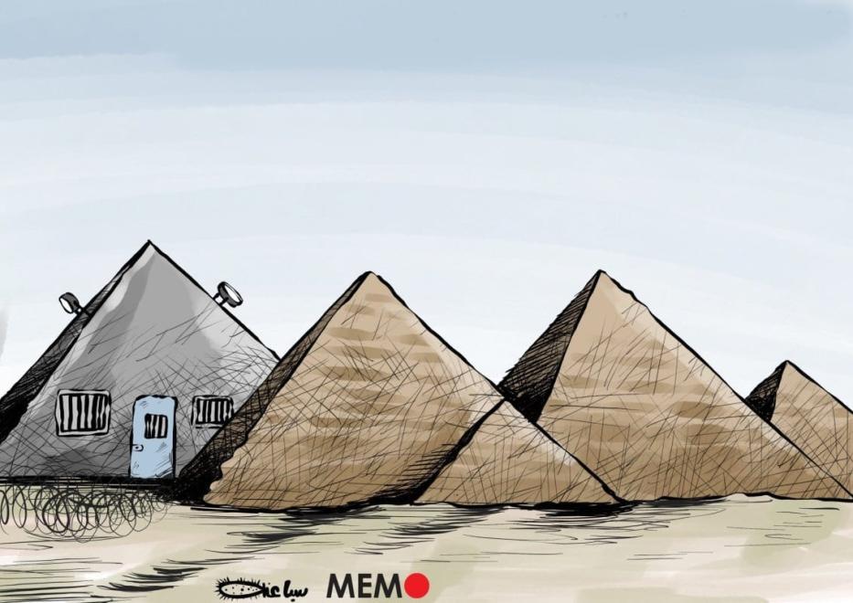 A infame Prisão do Escorpião, no Cairo, Egito [Sabaaneh/Monitor do Oriente Médio]