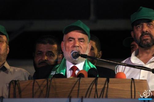 Presidente interino da Assembleia Legislativa, Dr. Ahmad Bahar (Agência de Opinião Palestina)