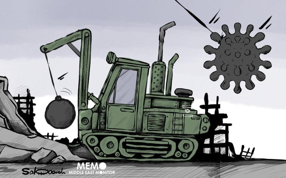 Não há virtude humanitária em Israel, ao interromper apenas por um instante as demolições contra casas palestinas [Sabaaneh/Monitor do Oriente Médio]