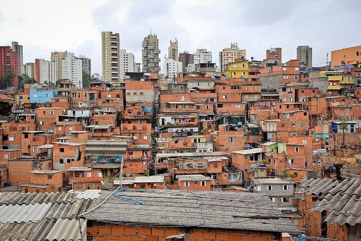 Bairro de Paraisópolis em São Paulo [Vilar Rodrigo/ Wikipedia]