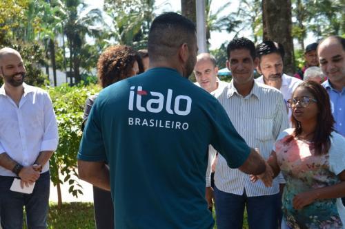 São paulo - A prefeitura de São Paulo firmou hoje (13) parceria com o Centro Universitário Ítalo-Brasileiro para oferecer curso de português para refugiados venezuelanos (Rovena Rosa/Agência Brasil)