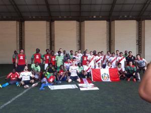 Rio Grande do Sul homenageia o povo palestino com inauguração de praça e torneio de futebol[fotos da facebook]