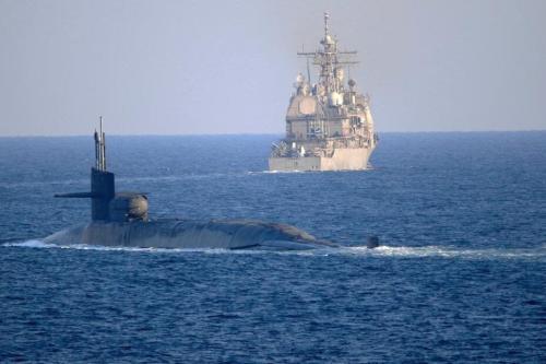 Um submarino israelense passou pelo Canal de Suez na semana passada no que é visto como uma mensagem clara ao Irã, de acordo com um relatório ontem do Kan News citando inteligência árabe fontes. A passagem teria sido aprovada pelas autoridades egípcias [@USNavy / Twitter]