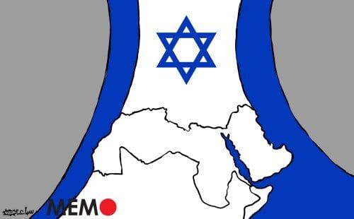 Um número crescente de países na região MENA está normalizando laços com Israel. [Sabaaneh/Monitor do Oriente Médio]