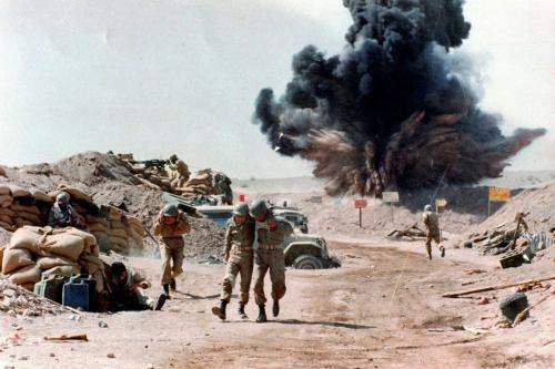 Guerra Irã-Iraque [foto de arquivo]