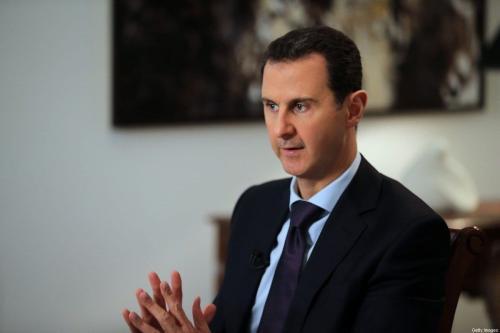 Presidente sírio Bashar Al-Assad em Damasco, Síria em 11 de fevereiro de 2016 [Joseph Eid/ AFP / Getty Images]