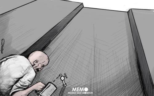 Luta sem fim entre Egito/Etiópia e Sudão pela Barragem Renascentista. [Sabaaneh/Monitor do Oriente Médio]