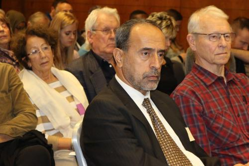 Zaher Birawi na conferência MEMO e EuroPal Forum The Palestine Question in Europe em 23 de novembro de 2019 [Monitor do Oriente Médio]