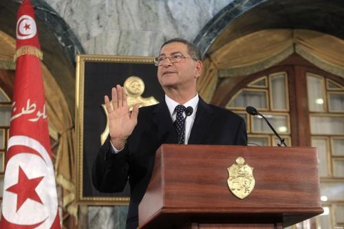 Ex- primeiro-ministro tunisiano, Habib Essid [Agência Anadolu]