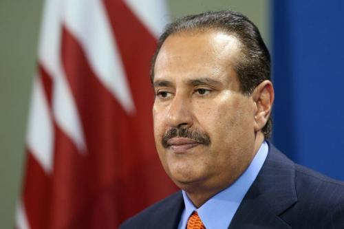 Ex-Primeiro-Ministro do Catar Hamad bin Jassim Al Thani [Sean Gallup/Getty Images]