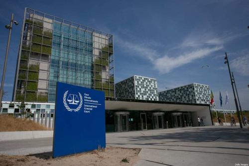 Vista externa do Tribunal Penal Internacional (TPI), em 20 de julho de 2018, em Haia, Holanda. [Ant Palmer/Getty Image]
