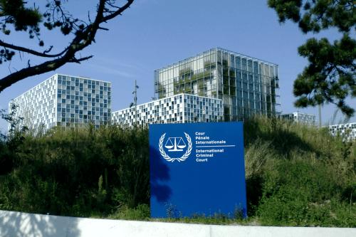 Edifício do Tribunal Penal Internacional, em Haia, em 23 de dezembro de 2019 [Wikipedia]