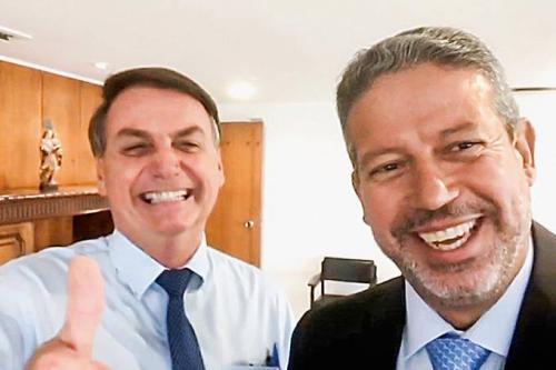 Jair Bolsonaro e Arthur Lira [Foto Reprodução]