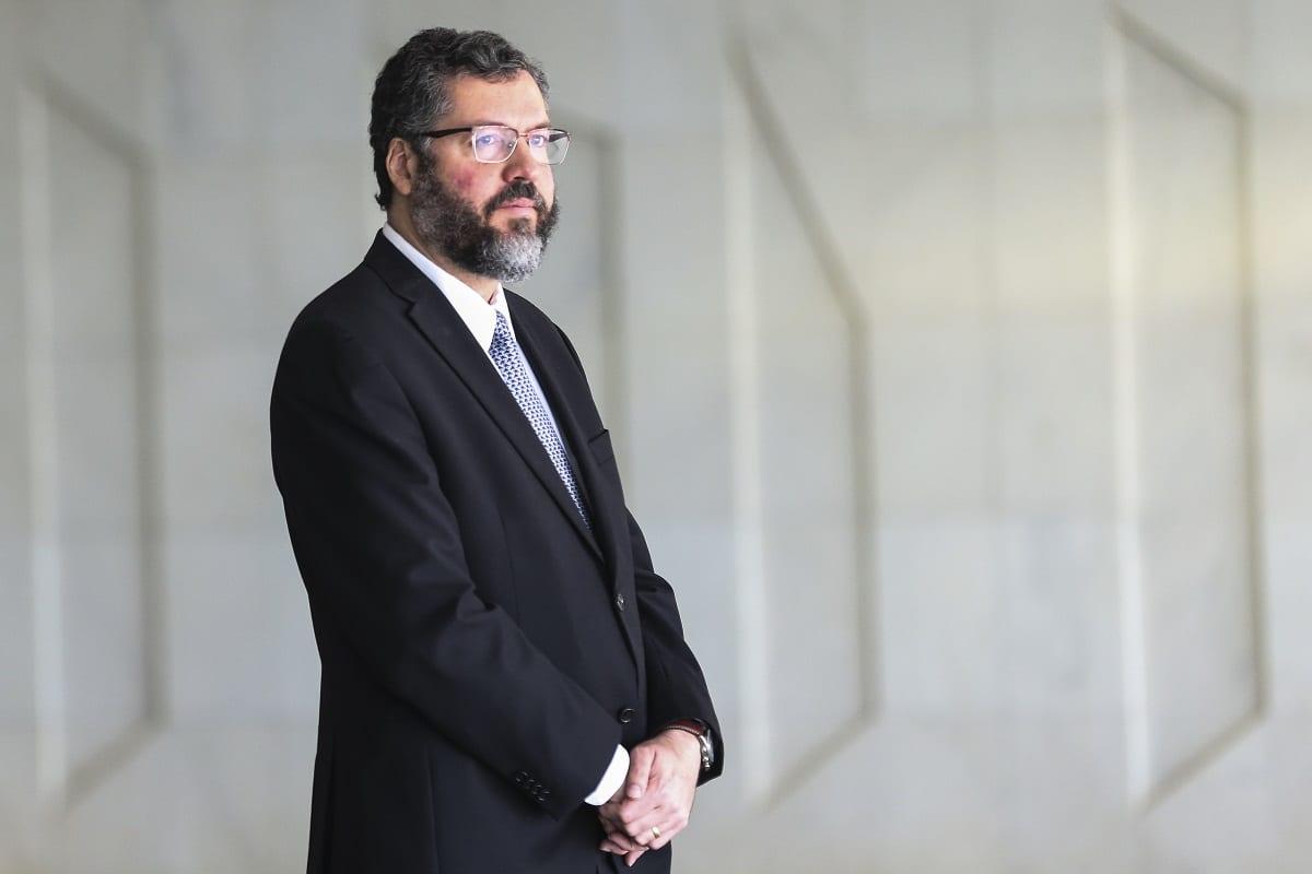 ministro das Relações Exteriores do Brasil, Ernesto Araujo [ José Cruz/ Agência Brasil]