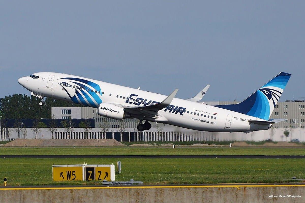 Avião da companhia aérea EgyptAir [Alf van Beem/Wikipedia]