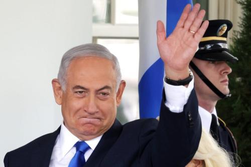 O primeiro-ministro de Israel, Benjamin Netanyahu, em 15 de setembro de 2020, em Washington, DC. [Alex Wong/Getty Images]