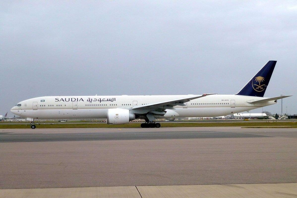 Boeing 777-300, parte da frota saudita [John Taggart/Wikimedia]