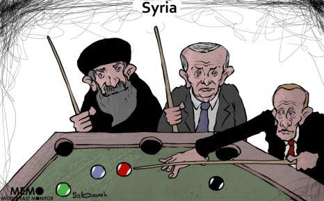 Qual país tem o destino da Síria em suas mãos? [Sabaaneh/Monitor do Oriente Médio]