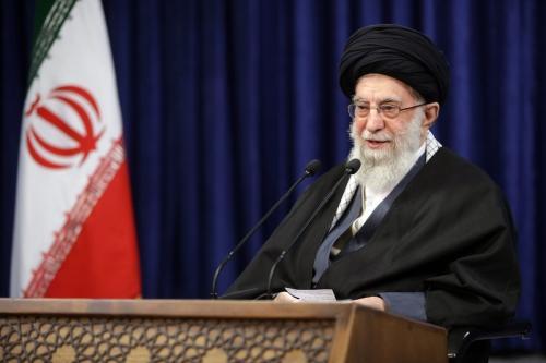 Protestos no Irã [Sabaaneh/Monitor do Oriente Médio]