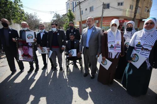 Hamas registra sua lista de candidatos à eleição legislativa [Mohammed Asad/Monitor do Oriente Médio]