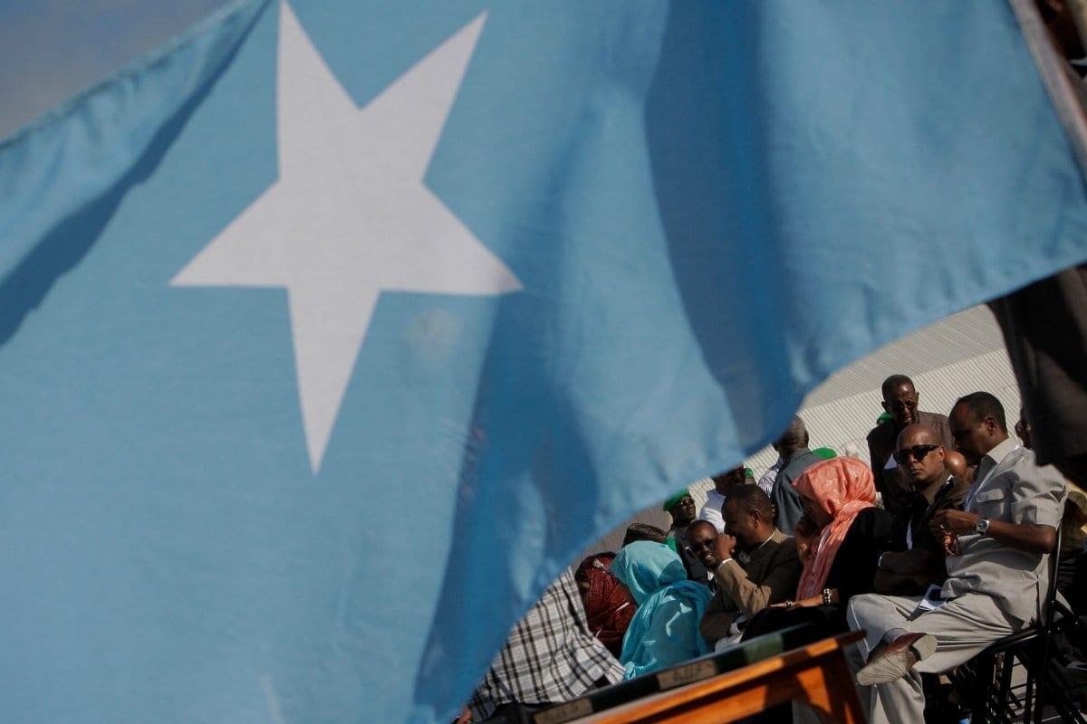 A bandeira da Somália, 27 de setembro de 2016 [Flickr/Amisom Public Information]