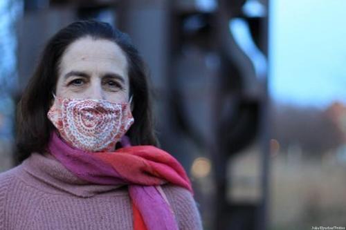 Professora de antropologia Julia Elyachar na Universidade de Princeton, 30 de abril de 2021 [Julia Elyachar/Twitter]