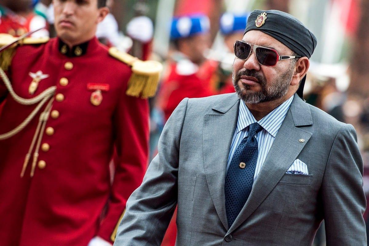 Rei Mohamed VI do Marrocos em Rabat, Marrocos em 17 de novembro de 2020 [Fadel Senna/ AFP / Getty Images]