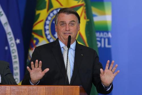 Presidente Jair Bolsonaro em 25 de março de 2021, Brasília [Fabio Rodrigues Pozzebom/Agência Brasil]