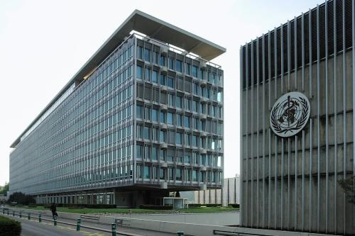 Sede da Organização Mundial de Saúde, Genebra [Wikipedia]