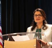 Palestinos vivem 'momento fundacional', diz congressista dos EUA