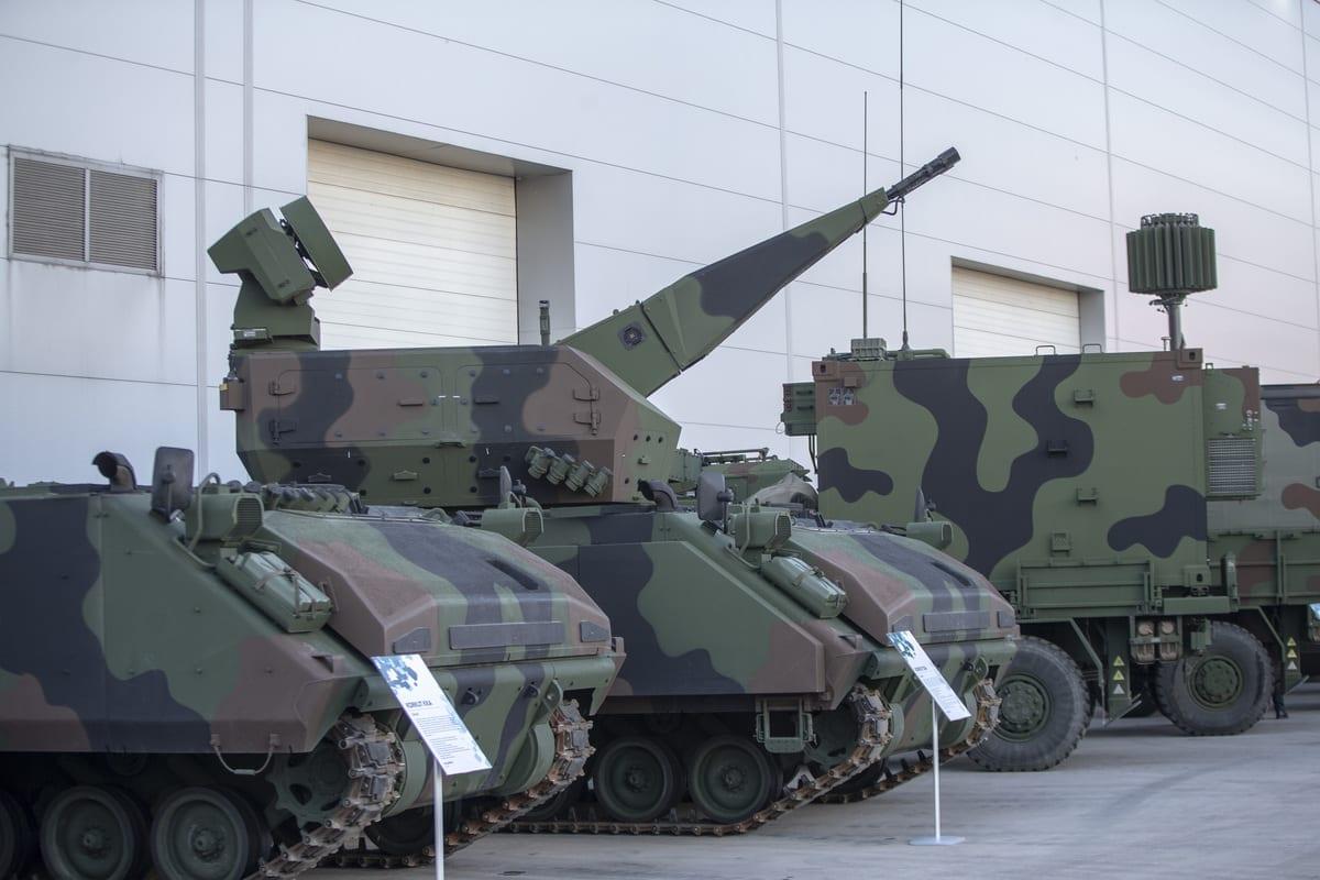 Sistemas de armas são vistos em Ancara, Turquia, em 12 de novembro de 2020 [Emin Sansar/Agência Anadolu]