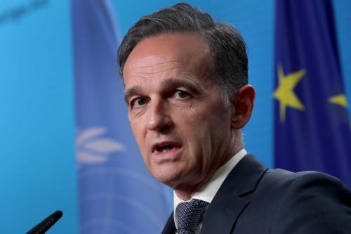 Ministro de Relações Exteriores da Alemanha Heiko Maas em Berlim, 17 de dezembro de 2020 [Michael Sohn/Agência Anadolu]